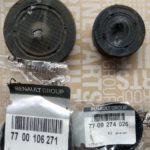 Заглушки распредвалов Renault (старый и новый комплекты)