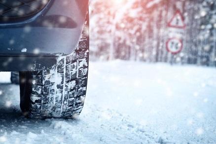 Шины автомобиля зимой