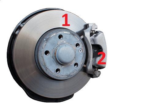 Тормозной диск и колодка Renault